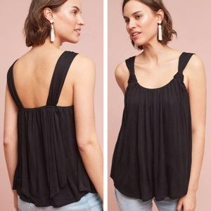 Anthropologie Knotted Scoop Neck Tank Top – Size S